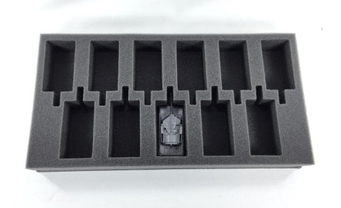 Flames of War US Abrams Armored Combat Team Foam Tray