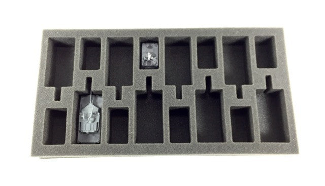 Flames of War US Abrams and M113 Foam Tray Battlefoam- Blitz and Peaces