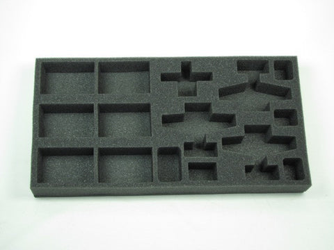 Flames of War US FDC and Strategic Bombardment Foam Tray (BFM) 15.5W x 8L x 1.5H