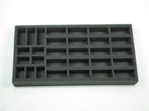 Flames of War US Half-Track and Jeep Foam Tray (BFM) 15.5W x 8L x 1.5H