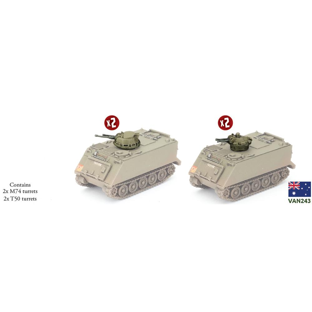 M113 M74C and T50 Turrets Battlefront- Blitz and Peaces