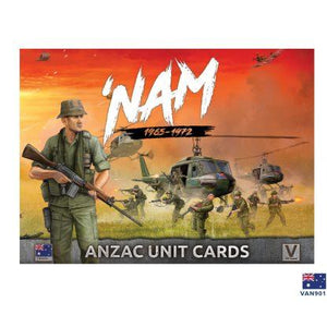 VAN901 Unit Cards _ ANZAC Forces in Vietnam Battlefront- Blitz and Peaces