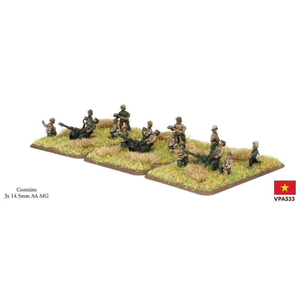 VPA532 PAVN 12.7mm AA Platoon Battlefront- Blitz and Peaces