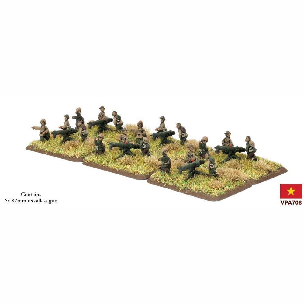 VPA708 PAVN 82mm Recoilless Gun Company Battlefront- Blitz and Peaces
