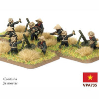 VPA735 Local Forces Mortar Platoon Battlefront- Blitz and Peaces