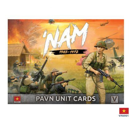 VPA901 Unit Cards _ PAVN Forces in Vietnam Battlefront- Blitz and Peaces