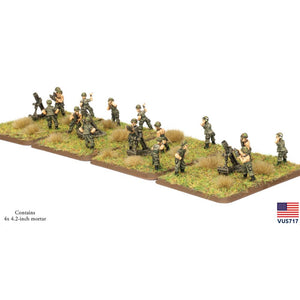 VUS717 4.2″ Mortar Platoon Battlefront- Blitz and Peaces