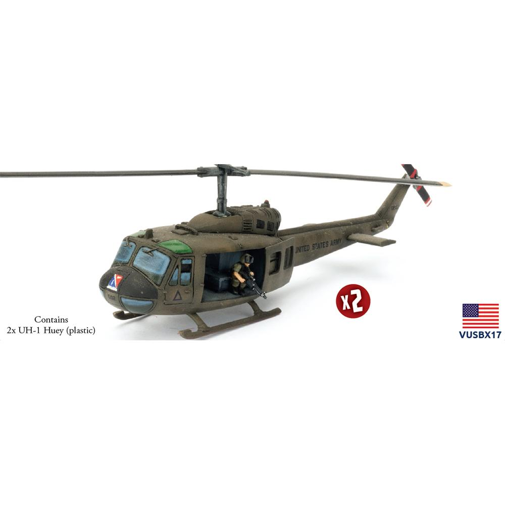VUSBX17 UH-1 Huey Aviation Platoon (Plastic) Battlefront- Blitz and Peaces