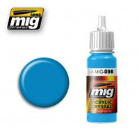 CRYSTAL LIGHT BLUE MIG- Blitz and Peaces