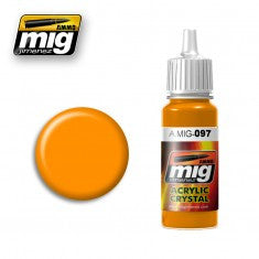 CRYSTAL ORANGE MIG- Blitz and Peaces