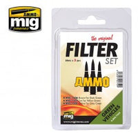 Filter Set for Green Vehicles MIG- Blitz and Peaces