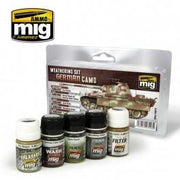 A.MIG-7443 GERMAN CAMOUFLAGE WEATHERING SET