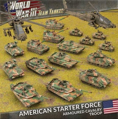 TUSAB04 WWIII: American Starter Force: Armoured Cavalry Troop Battlefront- Blitz and Peaces