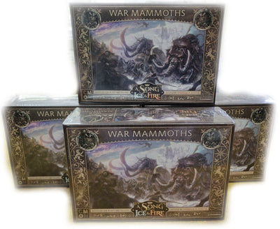 SIF412 Free Folk War Mammoths