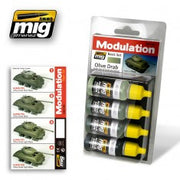 OLIVE DRAB MODULATION SET MIG- Blitz and Peaces