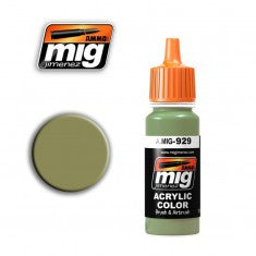 OLIVE DRAB  SHINE MIG- Blitz and Peaces