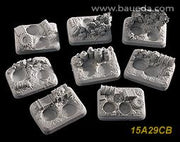 15A29CB 6 different scenic bases (desert)