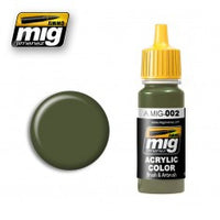 RAL 6003 OLIVGREEN OPT.2 MIG- Blitz and Peaces
