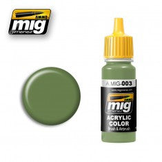 RAL 6011 RESEDAGREEN MIG- Blitz and Peaces