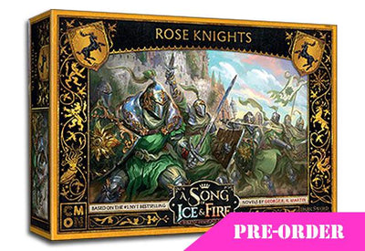 Baratheon Rose Knights - Pre-order CMON- Blitz and Peaces