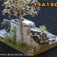 15A18CB  Bombed Mercedes 170V + small base