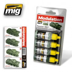 RUSSIAN 4BO MODULATION SET MIG- Blitz and Peaces