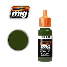 SPANISH GREEN-KHAKI MIG- Blitz and Peaces