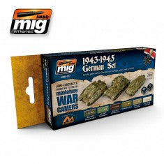 WARGAME 1943-1945  GERMAN SET MIG- Blitz and Peaces