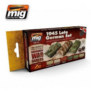 WARGAME 1945 LATE GERMAN SET MIG- Blitz and Peaces
