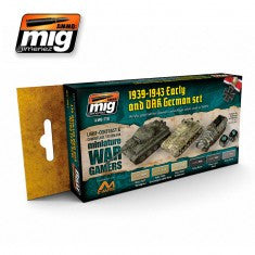 WARGAME EARLY AND DAK GERMAN SET MIG- Blitz and Peaces