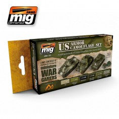 WARGAME US ARMOR SET MIG- Blitz and Peaces