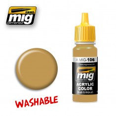 WASHABLE SAND (RAL 8020) MIG- Blitz and Peaces