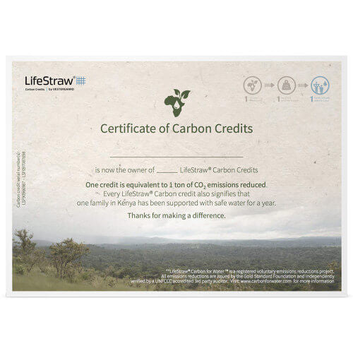 LifeStraw Carbon Credits