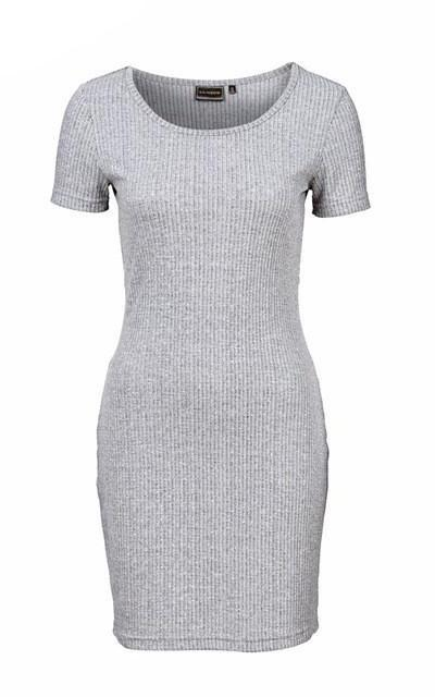 Bodycon Hollow Out Mini Sheath Dress-Women Dresses-Pasha Fashion