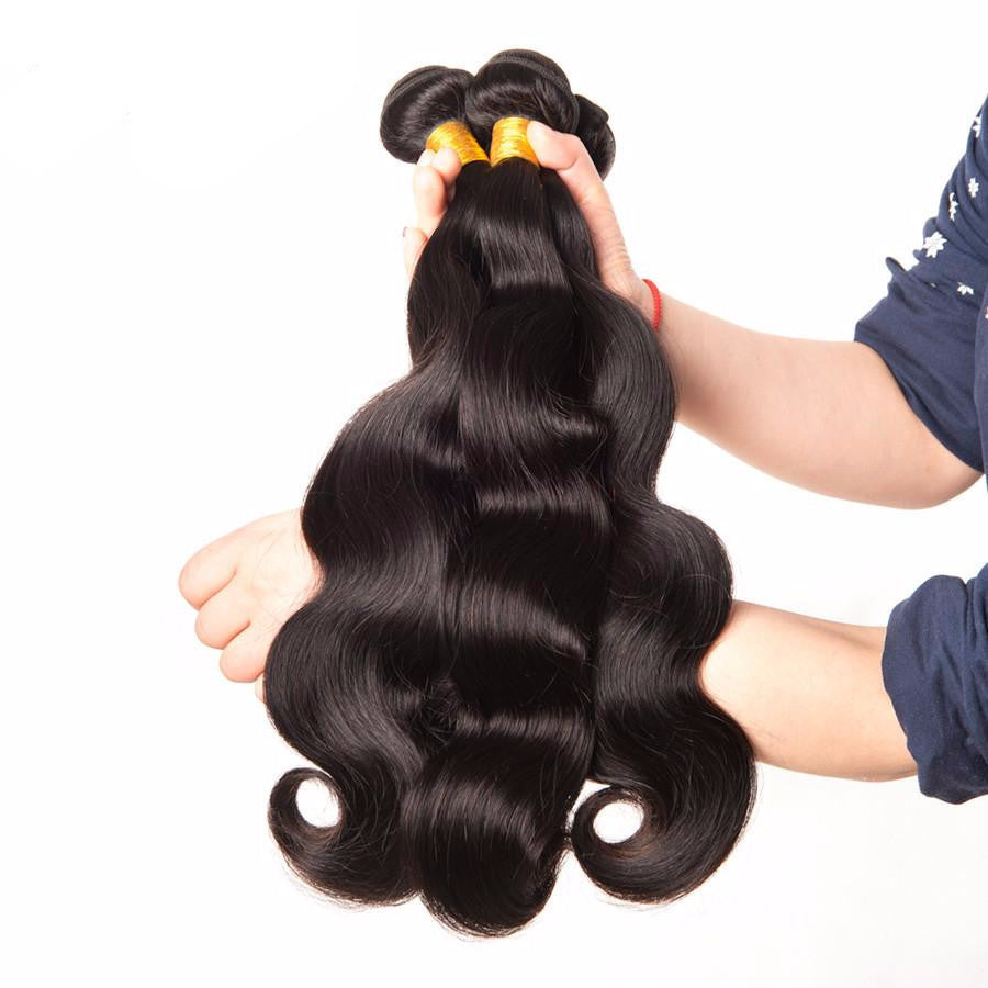 Brazilian Wavy Human Hair Weave-Human Hair Weaves-Pasha Fashion