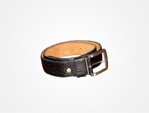 Heel the World Leather Belt