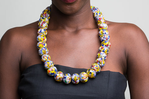 Beaded African Necklace