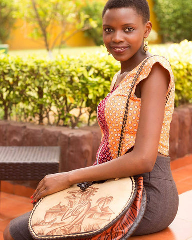Afrique Leather Bag - dziffa