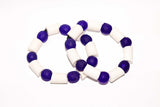 Solid African Glass Beads