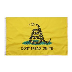Deluxe Don't Tread On Me Flag