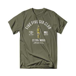 Shooter Zoo - 556 Club Tee