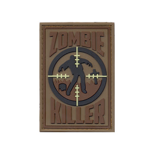 Zombie Killer PVC Patch