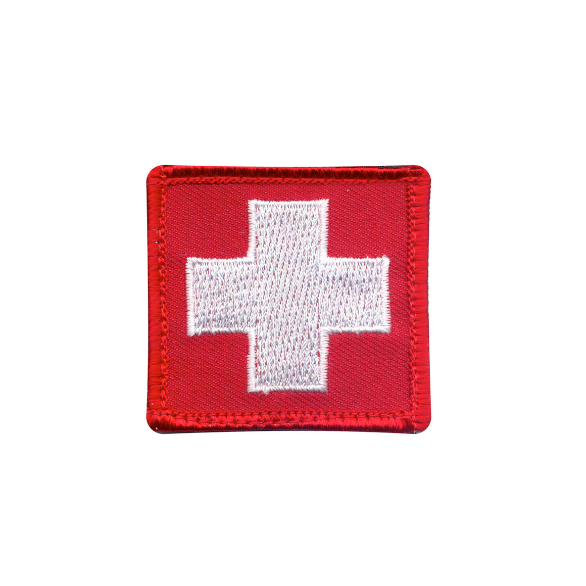 White Cross Red Patch