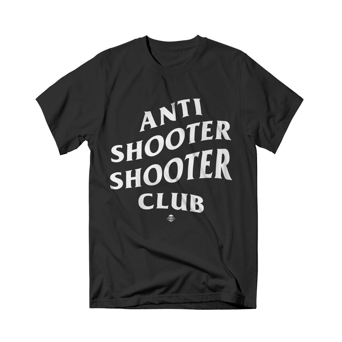 Shooter Zoo - Anti Shooter Tee Black