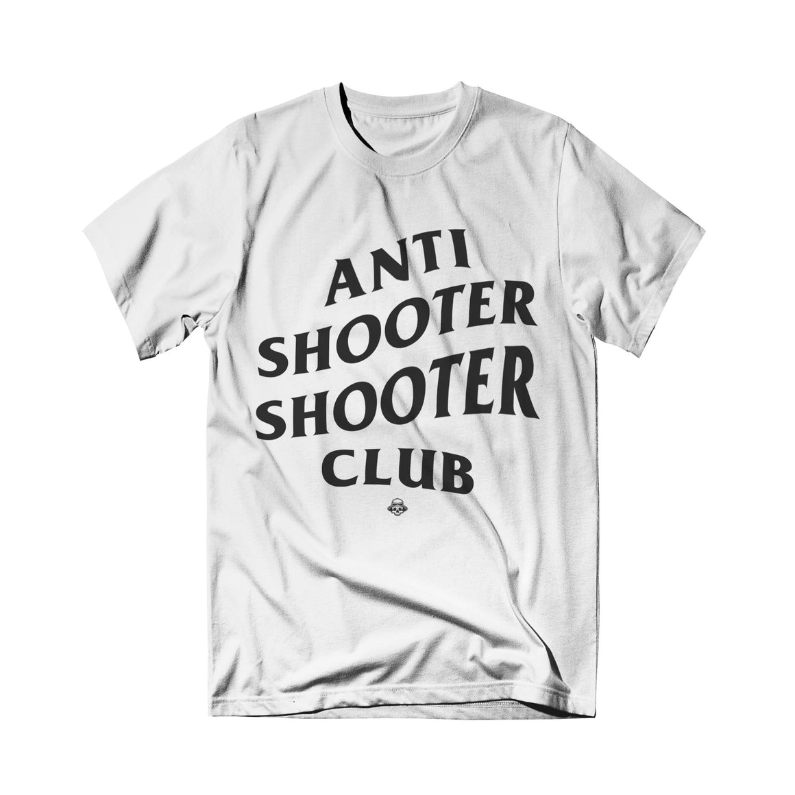 Shooter Zoo - Anti Shooter Tee White