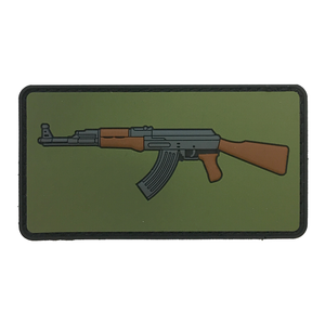 Shooter Zoo - AK Emoji Patch