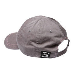 Glock Girl Unstructured Chino Hat - Grey