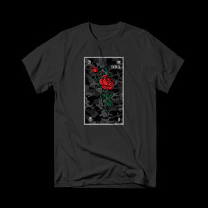 Zoo Tactical - Rose Tee Black