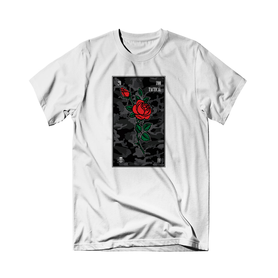 Zoo Tactical - Rose Tee White