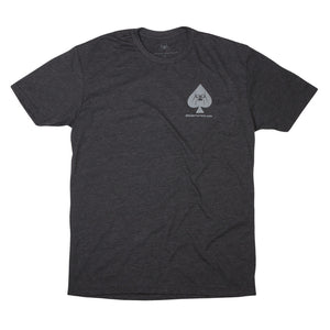 Spike's Tactical - Spades Tee - Charcoal